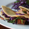 Barbecued Chicken Tacos with Slaw
