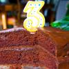 Whole Grain Chocolate Layer Cake with Chocolate Cinnamon Ganache