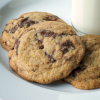 Whole Grain Chocolate Chunk Cookies with Coconut Oil