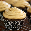 Gluten-Free Quinoa Chocolate Chip Cupcakes with Sunbutter Mousse Frosting