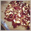 Trader Joe's Inspired Dark Chocolate Bark with Roasted Coconut Chips