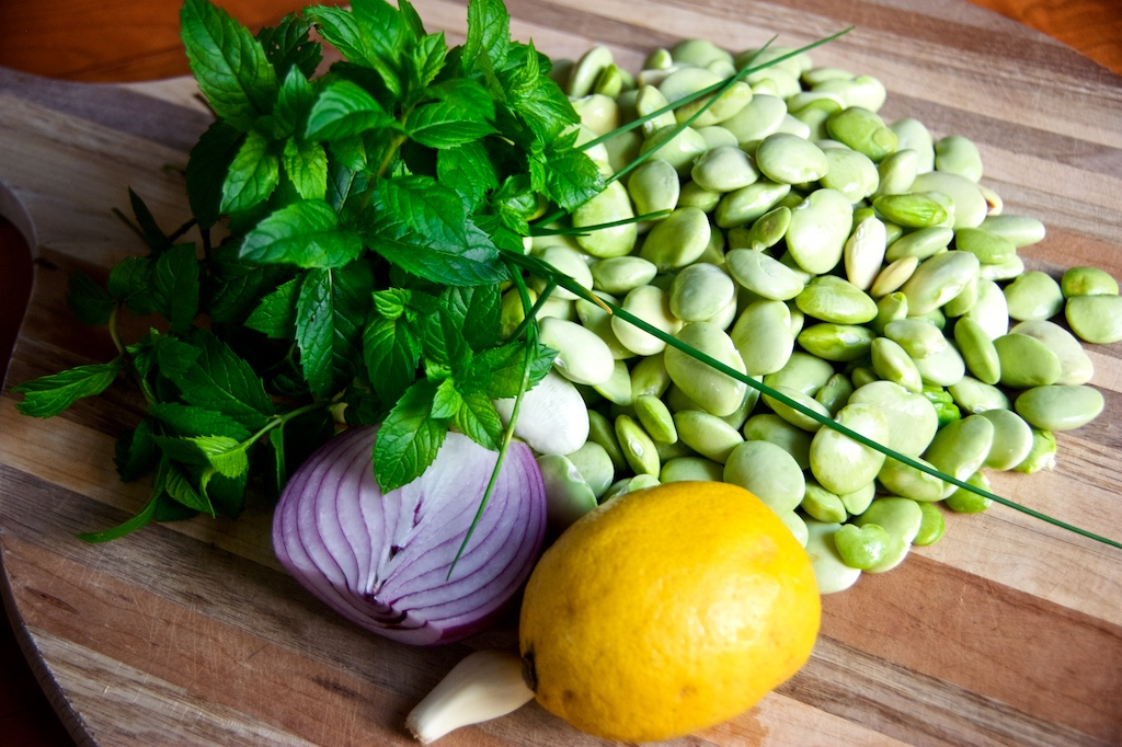 Lima Beans With Garlic Lemon Zest And Herbs Cuizoo